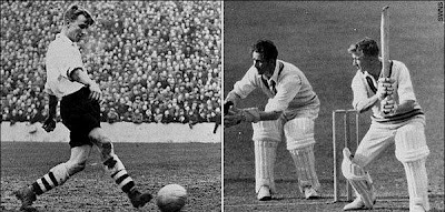 Cricket e Calcio: Arthur Milton