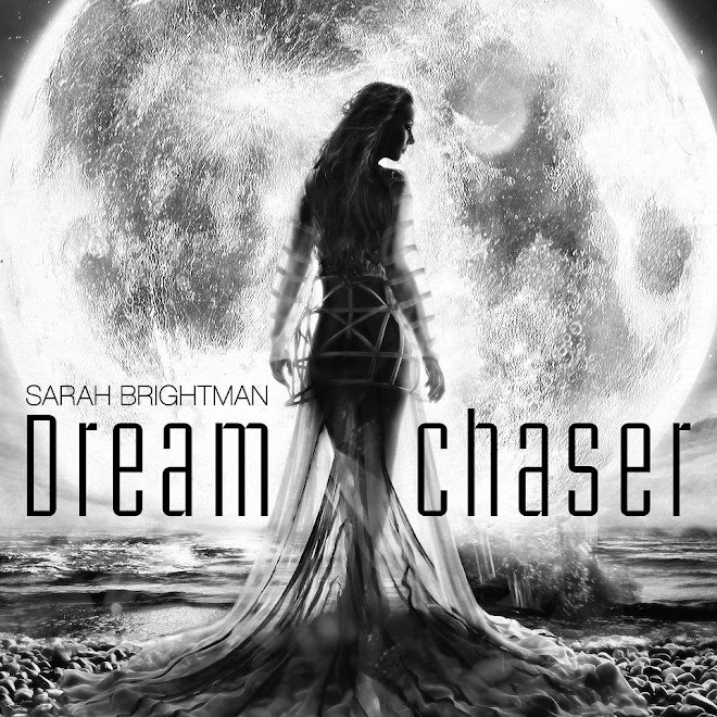 My recent work for Sarah Brightman&#39;s latest album cover, &#39;Dream Chaser&#39;