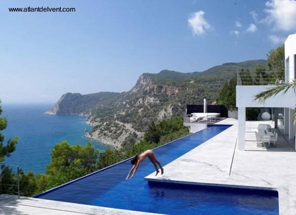 Arquitectura de casas fotos de piscinas modernas for Casas con piscinas fotos