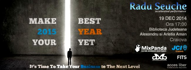 Make 2015 your best year yet!