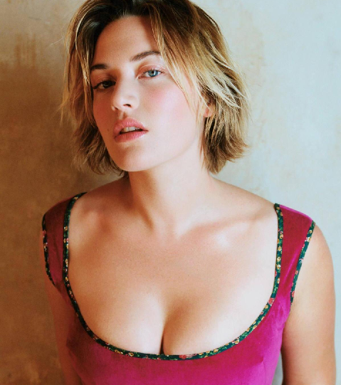 Kate Winslet without Dresses
