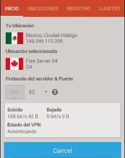Internet Gratis Telcel con Finchvpn Región 7 2015