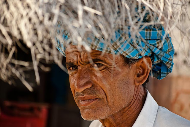 Portrait from Rajasthan..