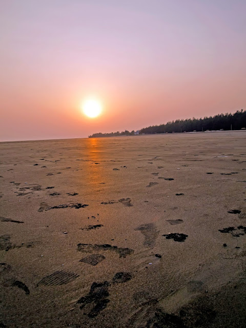 Sunset at Bakkhali