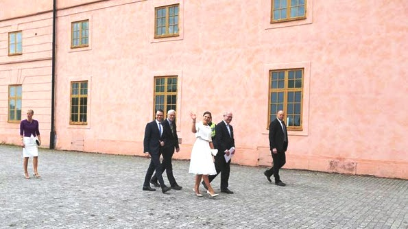 Princess Victoria Attended The Citizenship Ceremony At Uppsala Castle