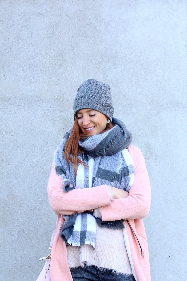 Pink & Grey Fall Style- Pastels & Pastries