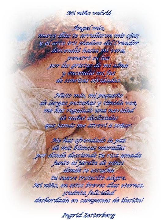 Un poema a mi nietecito Adrián
