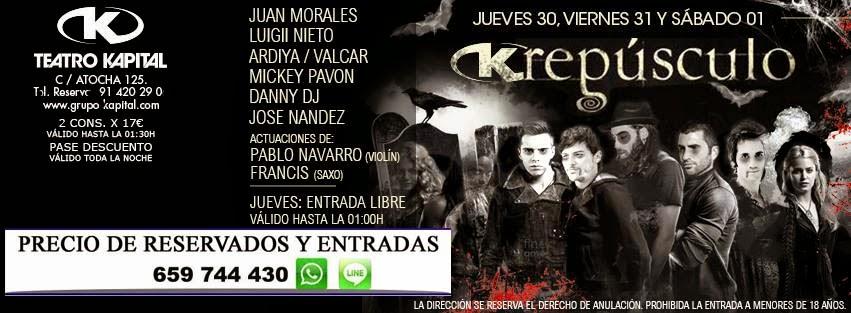 Discotecas gratis madrid 659 74 44 30 whatsapp fiesta de for Kapital jueves gratis