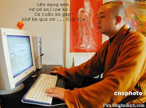 Thầy chùa chat chit
