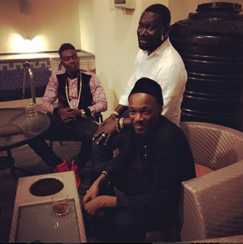 BBA contestant Tayo hangs out with Warri billionaire Ayiri Emami, tuface idibia