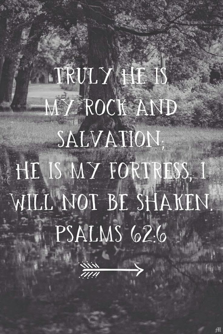 Truly He Is My Rock | Quotes and Sayings