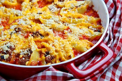 Taco Stuffed Shells
