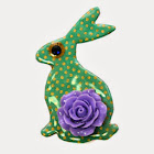Flamenco Hare Brooch