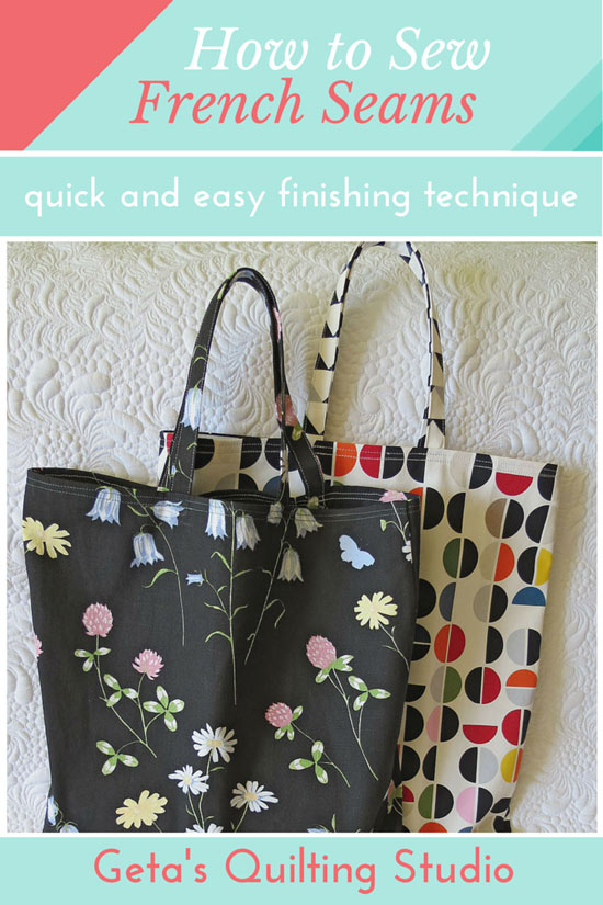 French Seams Tutorial