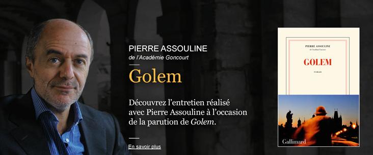 Échecs & Livre : Cliquez sur l'image pour découvrir l'entretien de Pierre Assouline