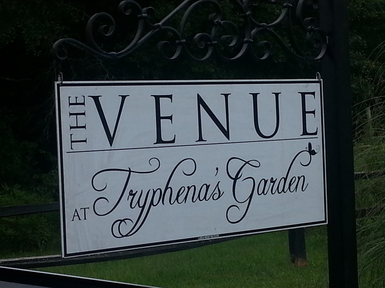 welcome to the venue at tryphanas gardens