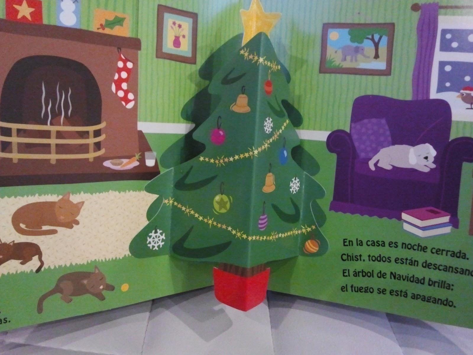 Como decorar un salon en navidad good velas coronas y - Salones decorados para navidad ...