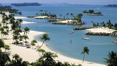 Sentosa island, pulau sentosa, holiday in singapore, liburan di singapura