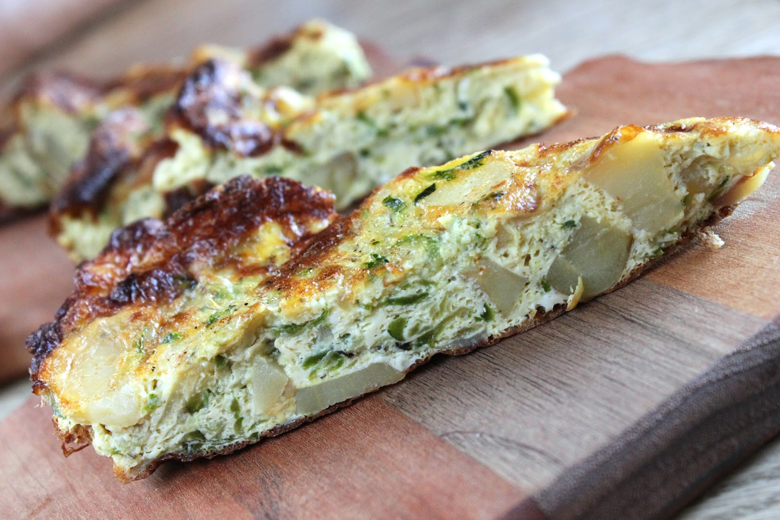 Zucchini-Potato Frittata Recipe — Dishmaps