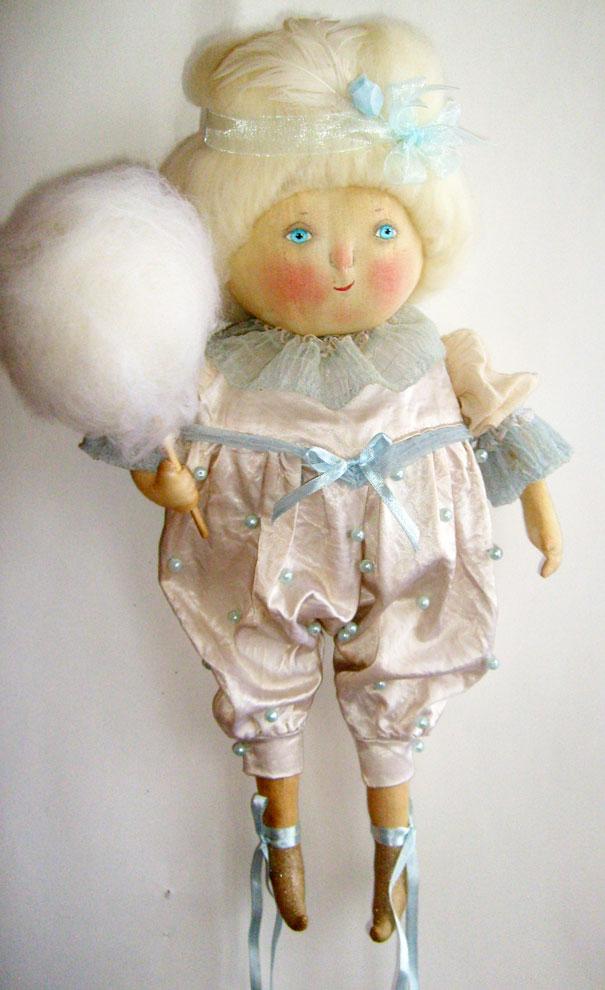 Как сделать куклу из ваты