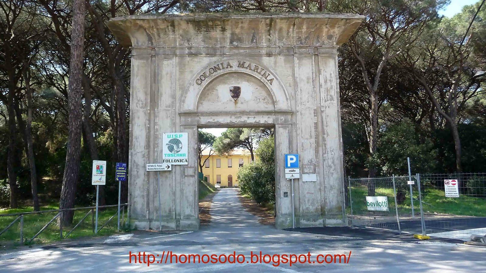 Homo sodo follonica tributo alla colonia marina for Sito parlamento italiano
