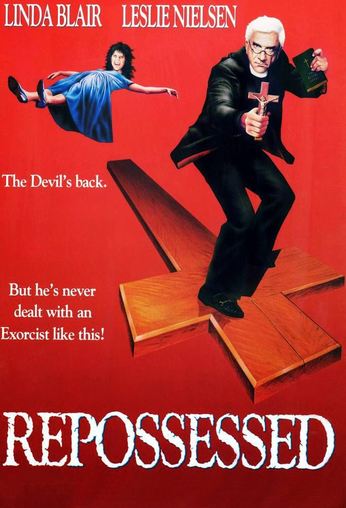 Repossessed Starring Leslie Nielsen and Linda Blair