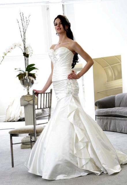 Trumpet Wedding Dresses Kleinfeld : Spot wedding dress gown design modern