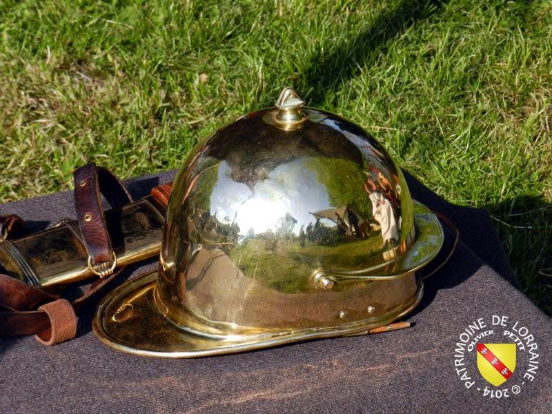 SION (54) - Journée gallo-romaine - Casque romain