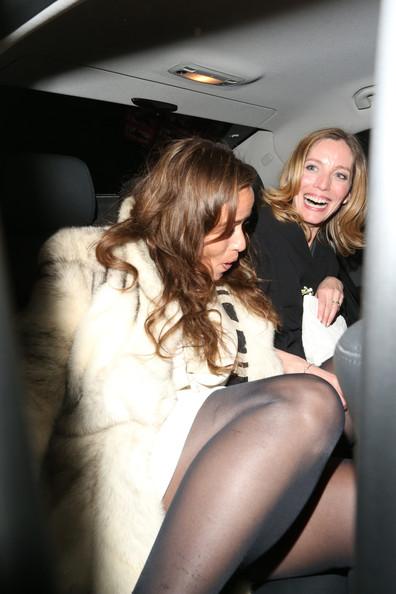 Jade Jagger Sale De La Fiesta De Dior En El Bar De Harry En Londres