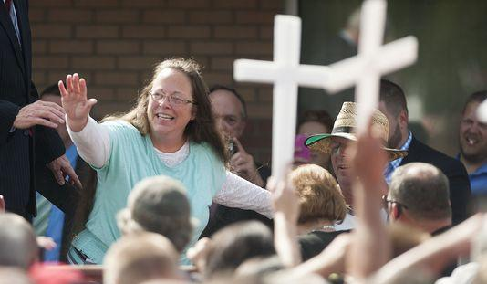Kim Davis and the Christians