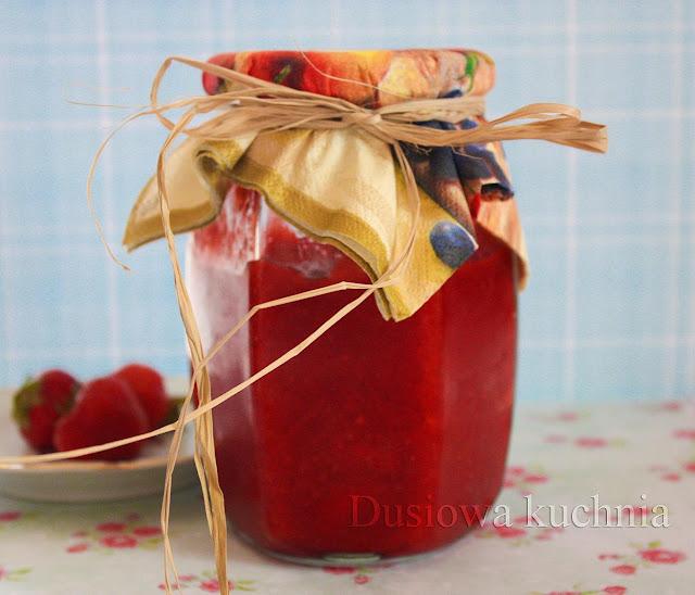 dżem truskawkowy, przepis na dżem, przepis na dżem truskawkowy, przepis ze zdjęciem na dżem truskawkowy