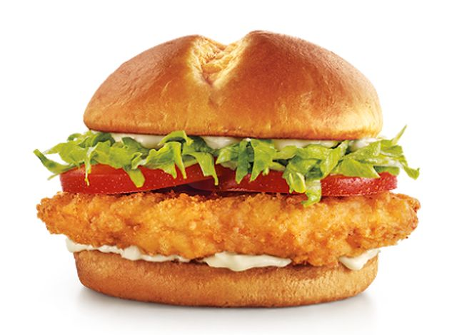 New ultimate chicken sandwich at sonic brand eating for Sonic fish sandwich
