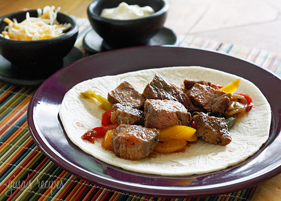 Grilled Steak Fajitas | Skinnytaste