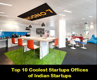 Top 10 Coolest Startups Offices of Indian Startups