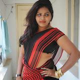 Sitara Hot Photos in Saree at Gundello Guchi Guchi Champake Movie Press Meet 25