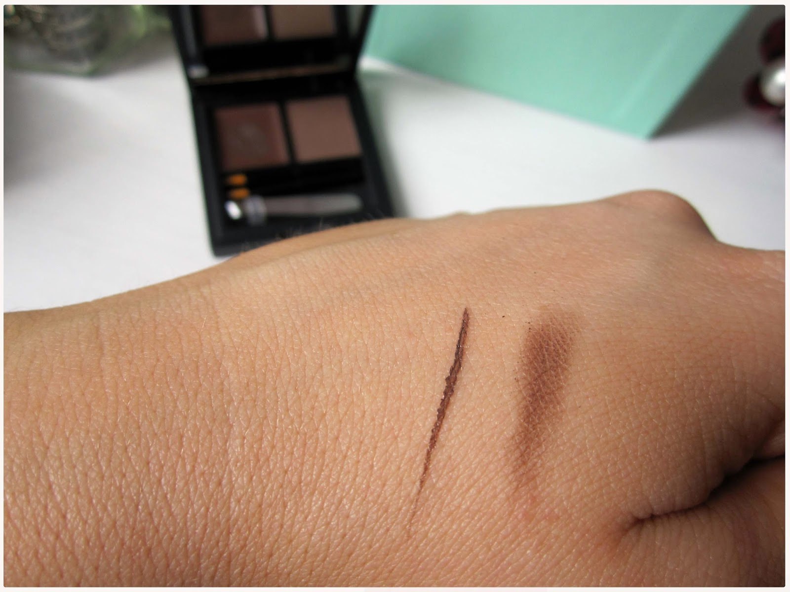 Sleek Brow Kit Review In Dark Brown Smock To Frock