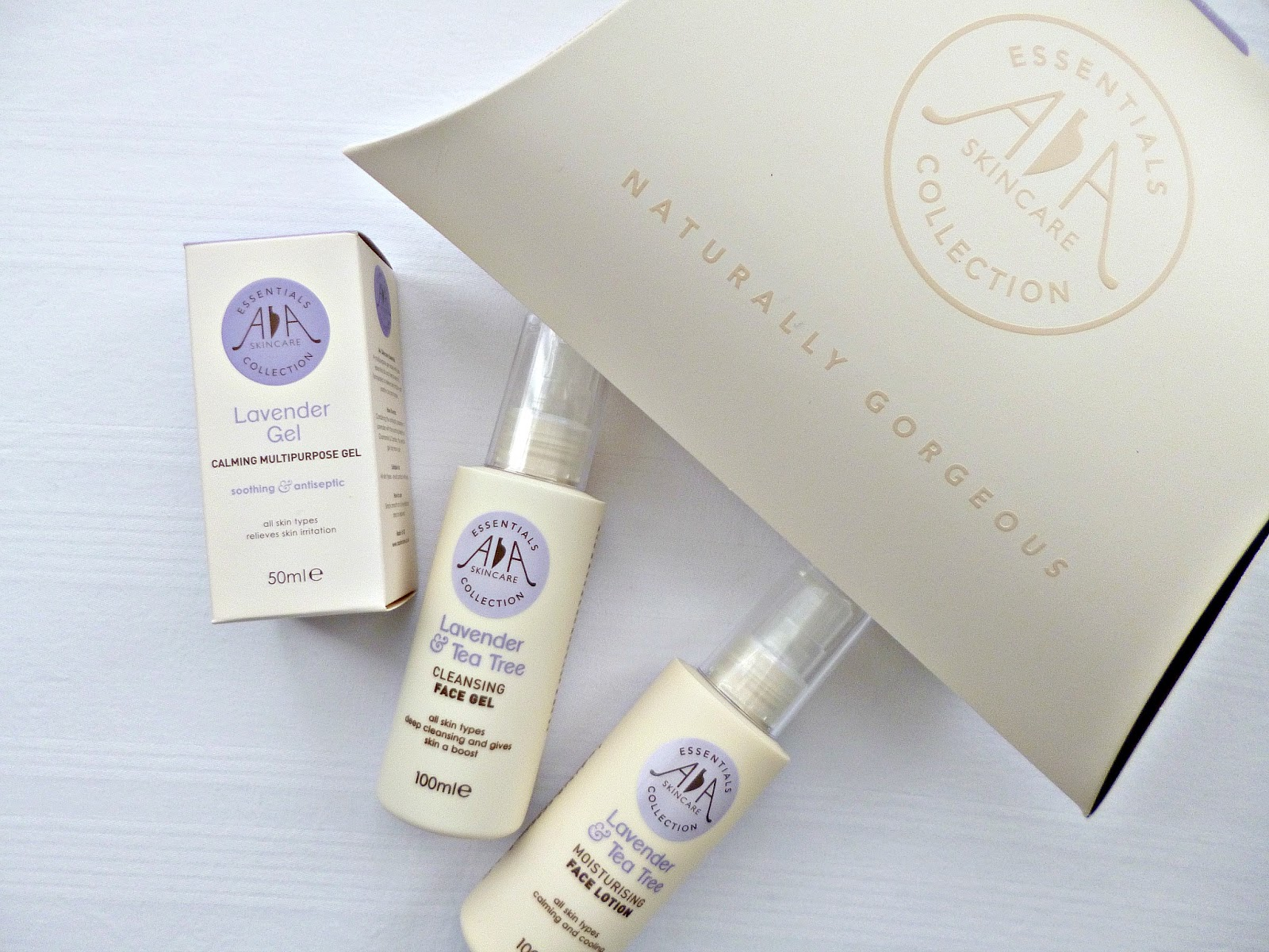 AA Skincare Soothing and balancing gift set and giveaway - Ana goes ...