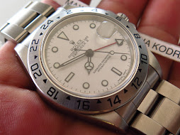 ROLEX EXPLORER II 40mm WHITE DIAL - POLAR - ROLEX 16570 GMT - SERIE S YEAR 1994
