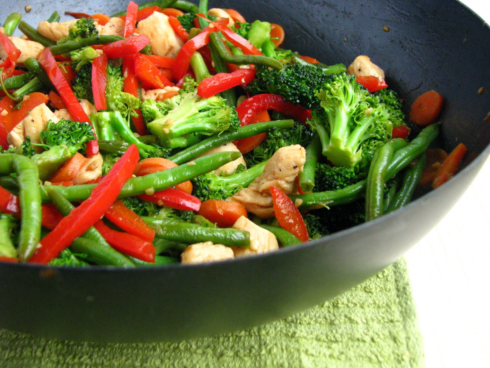 Cooking with Directions: Honey-Soy Chicken Stir-Fry
