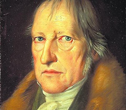 Picture of The German philosopher Georg Wilhelm Friedrich Hegel (1770-1831).