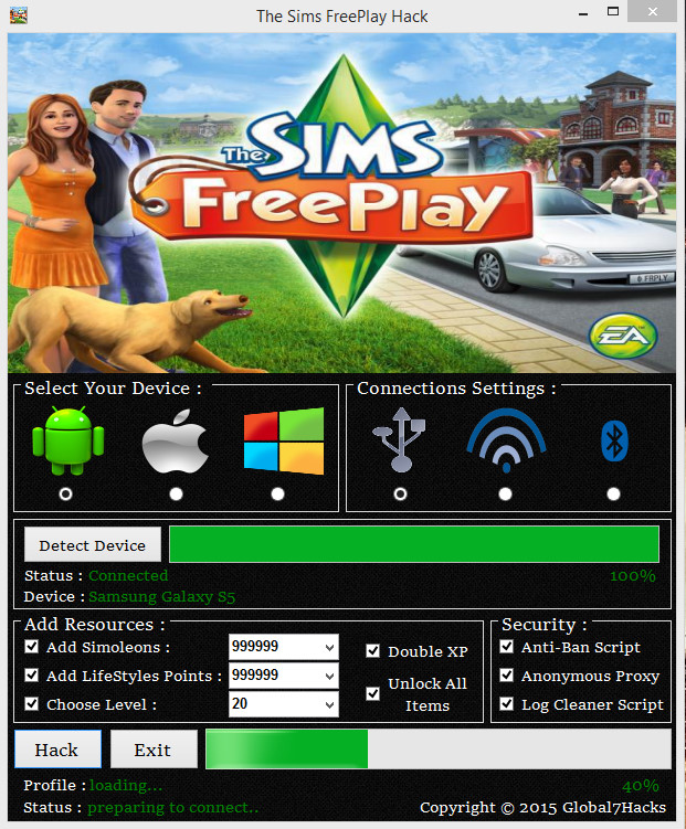 The Sim Freplayer Android Сохранения