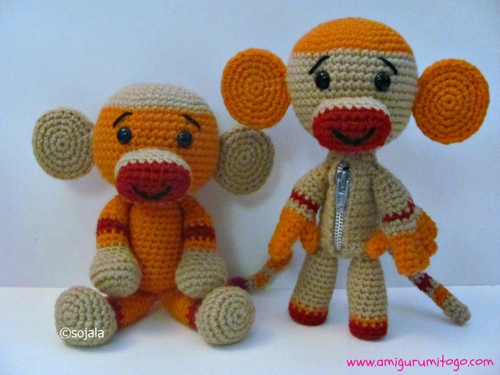 Amigurumi Crochet Sock Monkey : Sock Monkey Free Crochet Pattern ~ Amigurumi To Go