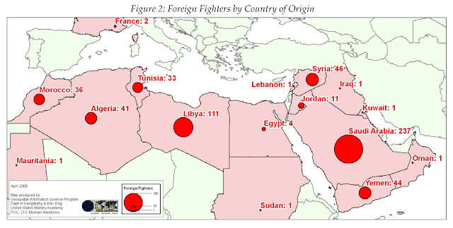 NATO Using Al Qaeda Rat Lines to Flood Syria With Foreign Terrorists WestPoint 2 Doc Page35Diagram
