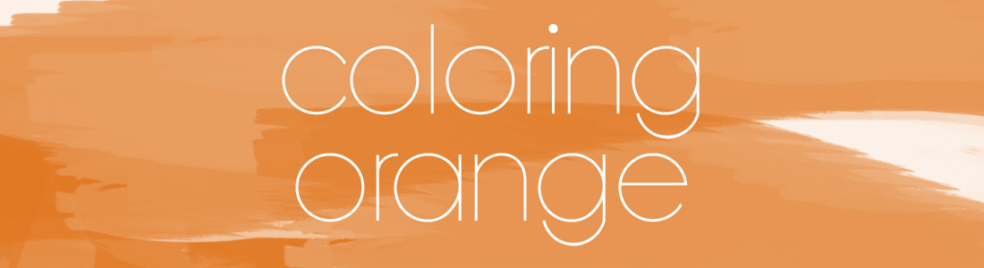 Coloring Orange