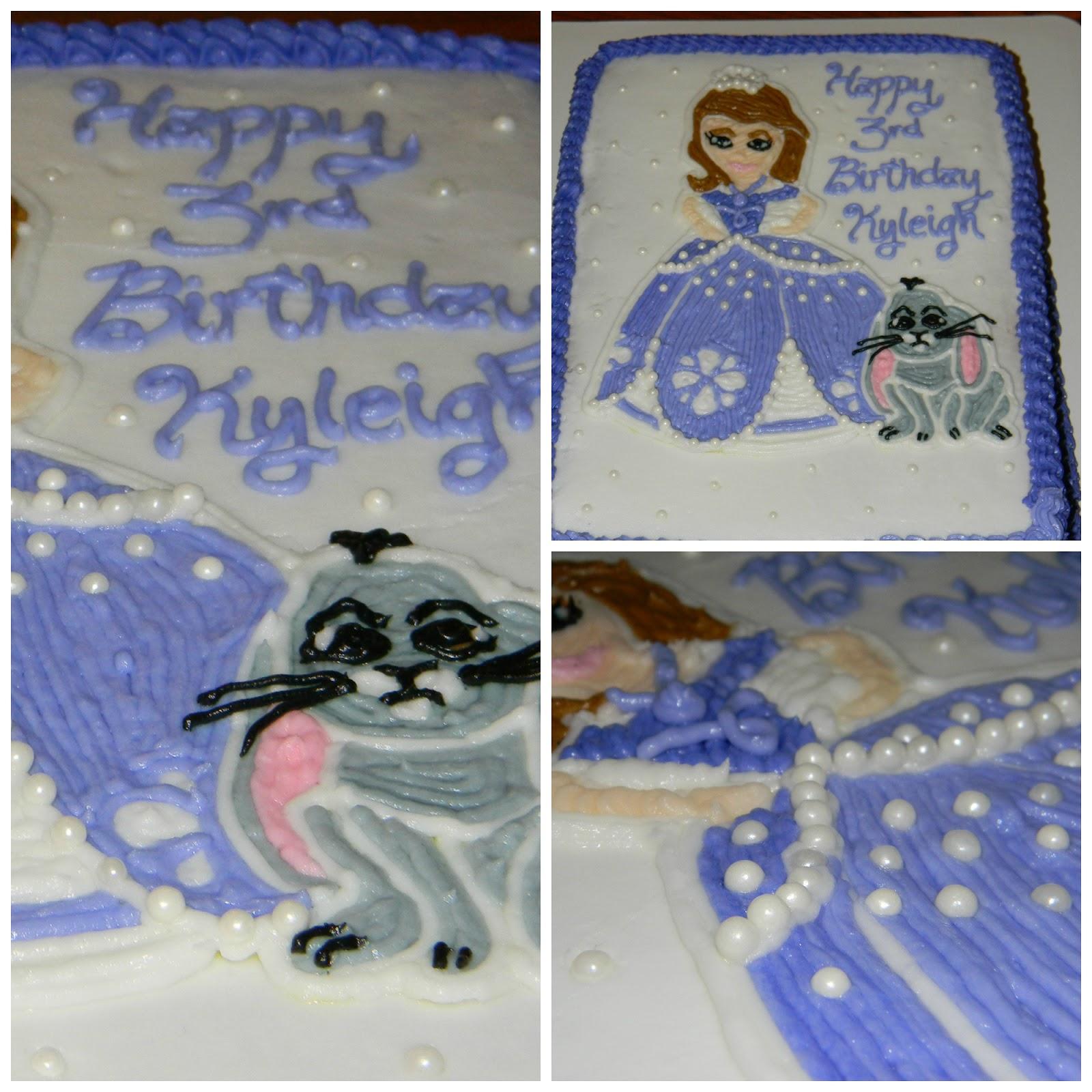 Boys First Birthday Sheet Cake