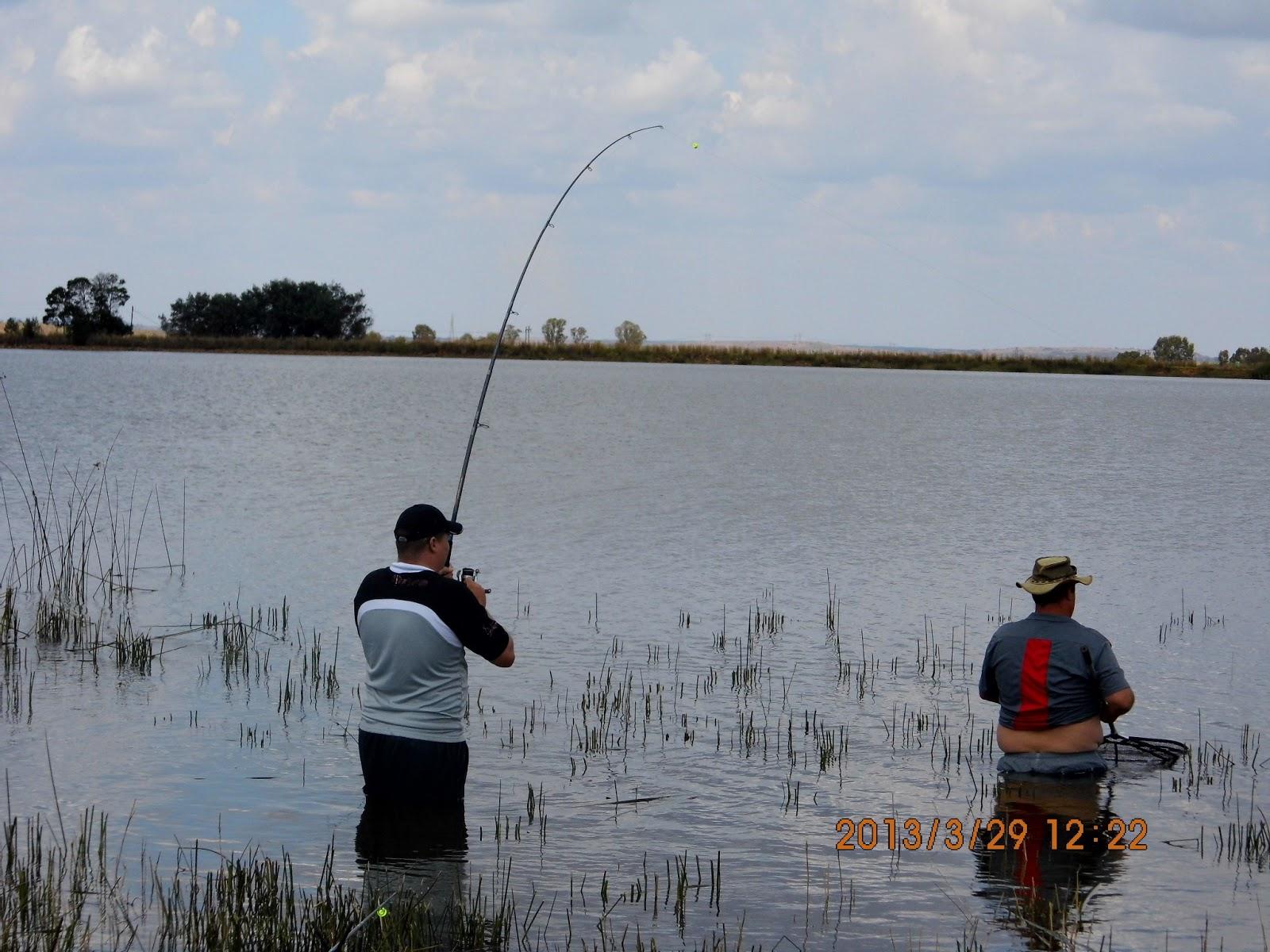 Hooked on fishing bronkhorstspruit private dam for Hooked on fishing