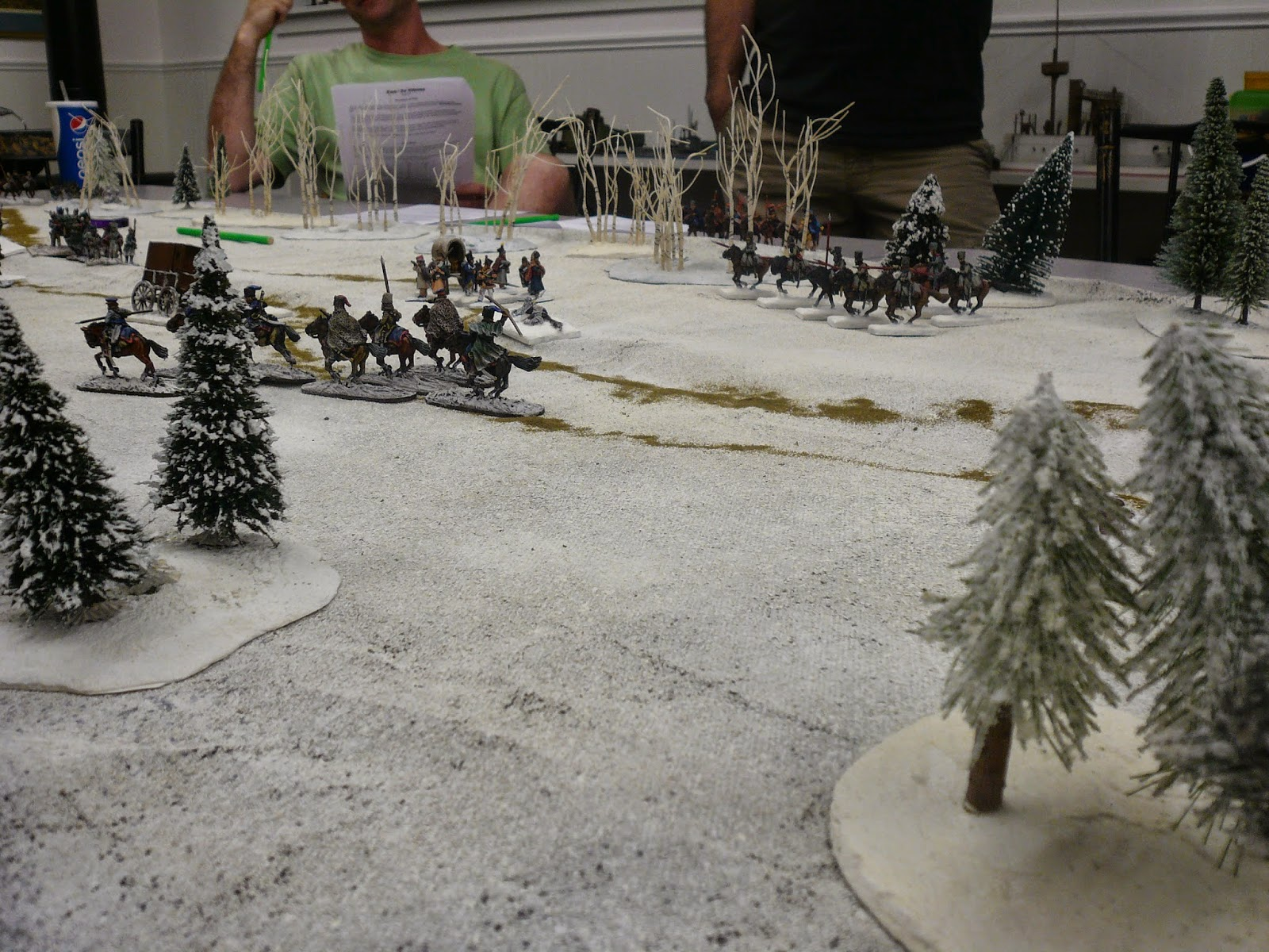 More Cossacks emerge from the woods!