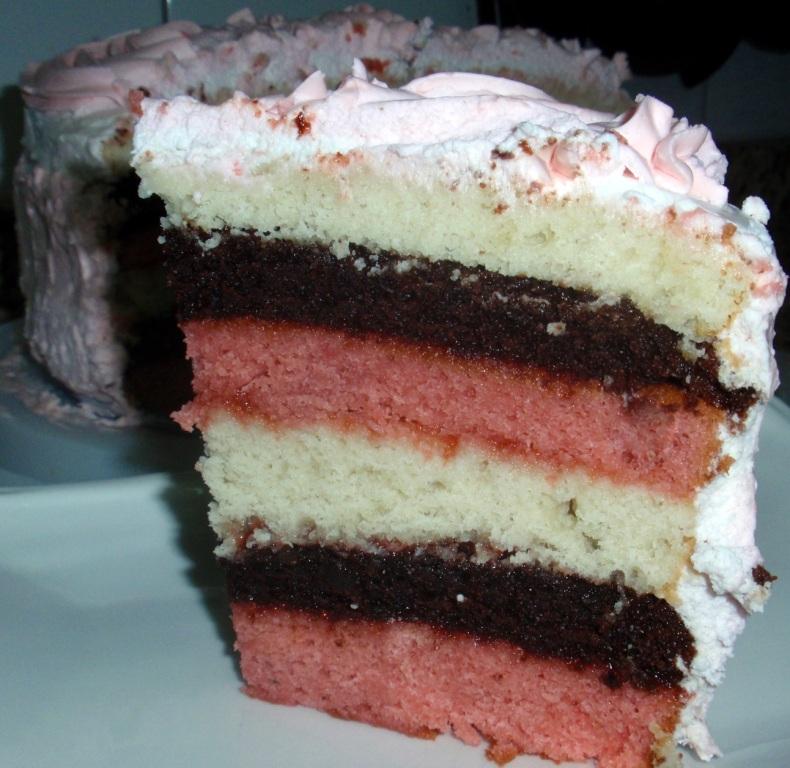 Neapolitan Cake Mix