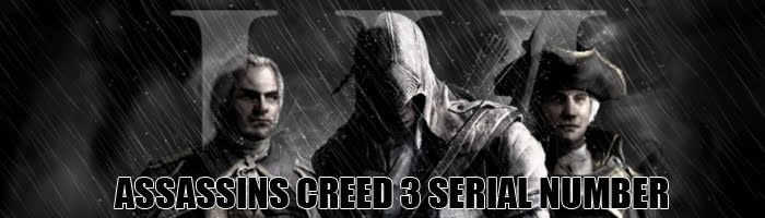 Assassins Creed 3 Keygen Serial Number PC