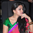 Sneha in Red Saree Photos